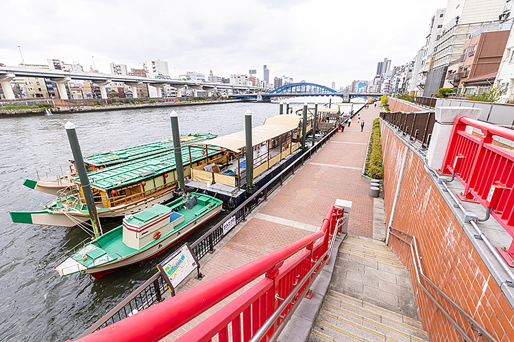 あみ清(吾妻橋)乗船場